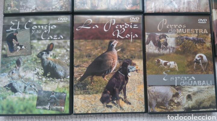 Coleccionismo deportivo: DVD CAZA - Foto 3 - 147435698