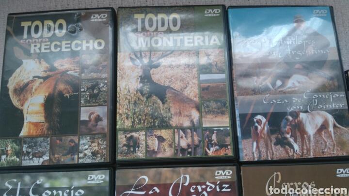 Coleccionismo deportivo: DVD CAZA - Foto 4 - 147435698