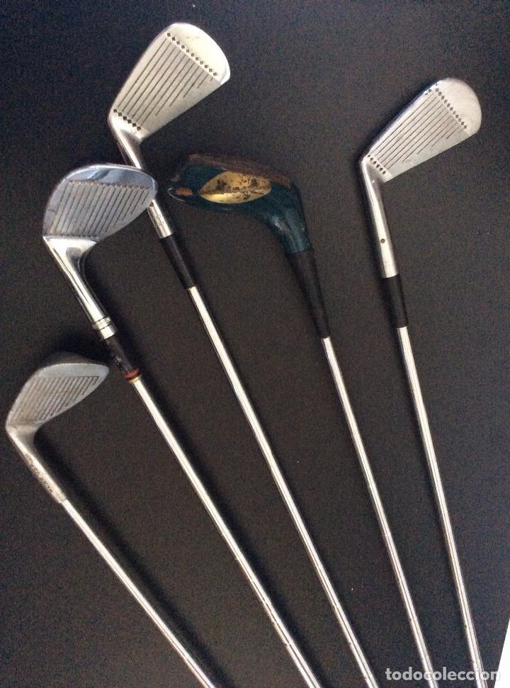 Coleccionismo deportivo: GOLF,Palos de golf antiguos(5), ideal decoración - Foto 2 - 147861486