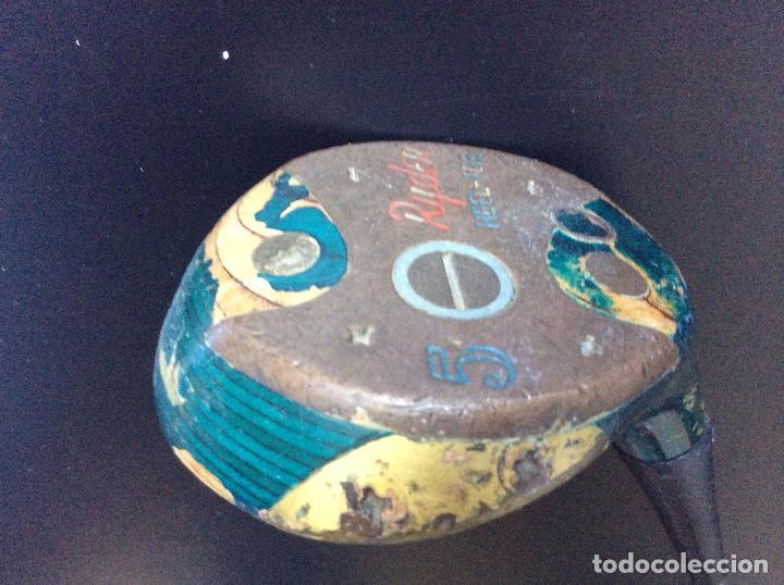 Coleccionismo deportivo: GOLF,Palos de golf antiguos(5), ideal decoración - Foto 10 - 147861486