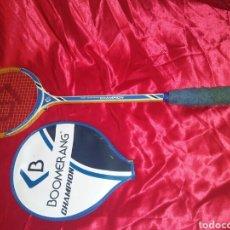 Coleccionismo deportivo: RAQUETA DE SQUASH VINTAGE CHAMPIONS BOOMERANG. Lote 149398968