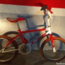 Coleccionismo deportivo: BMX ESMALTINA ROJA. Lote 149843960
