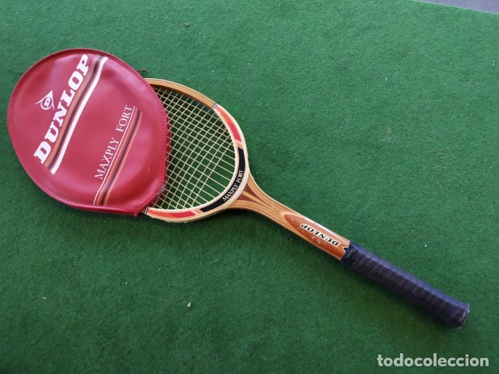 Coleccionismo deportivo: RAQUETA MADERA TENIS DUNLOP MAXPLY FORT - Foto 2 - 150989358