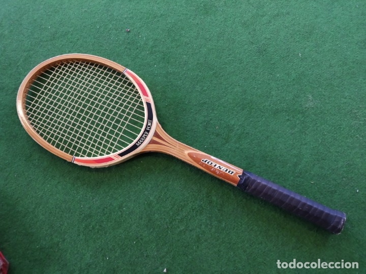 Coleccionismo deportivo: RAQUETA MADERA TENIS DUNLOP MAXPLY FORT - Foto 3 - 150989358