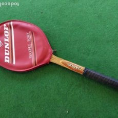 Coleccionismo deportivo: RAQUETA MADERA TENIS DUNLOP MAXPLY FORT. Lote 150989358