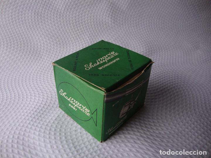 Coleccionismo deportivo: ANTIGUO Y RARO CARRETE DE PESCA NUNCA USADO - Foto 18 - 152460070