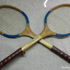 Coleccionismo deportivo: RAQUETAS DE MADERA IKATSUE AÑOS 70. Lote 154823262