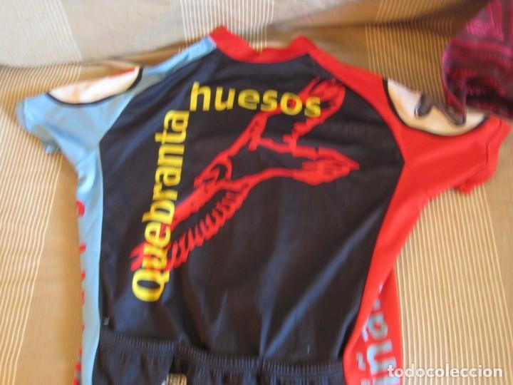 Coleccionismo deportivo: DOS MAILLOT IBERCAJA Y QUEBRANTA HUESOS 2008 EXPO - Foto 4 - 156278226