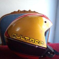 Coleccionismo deportivo: CASCO DE MOTO BULTACO.. Lote 159750134