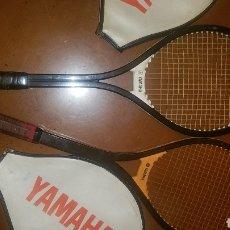 Coleccionismo deportivo: DOS RAQUETAS YAMAHA YFG 30 Y 50. Lote 160965281