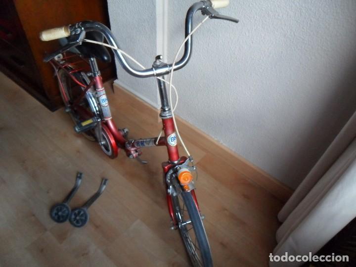 Coleccionismo deportivo: Bicicleta BH plegable años 70 infantil - Foto 5 - 161007030