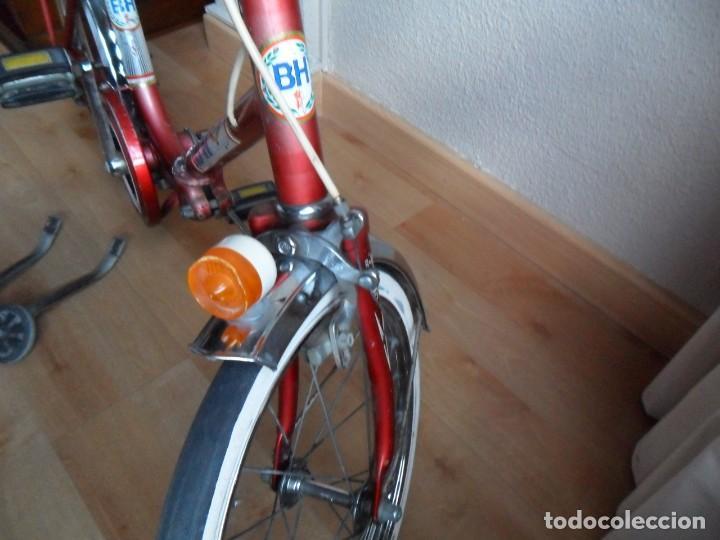Coleccionismo deportivo: Bicicleta BH plegable años 70 infantil - Foto 6 - 161007030