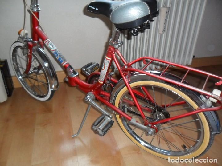 Coleccionismo deportivo: Bicicleta BH plegable años 70 infantil - Foto 8 - 161007030