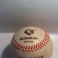 Coleccionismo deportivo: PELOTA BEISBOL - BOOMERANG .. Lote 161743978