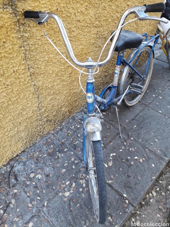 Coleccionismo deportivo: Bicicleta paseo plegable Bh años 70 Recogida en Mano - Foto 2 - 162398861