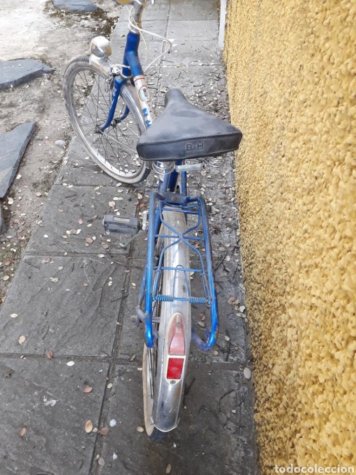 Coleccionismo deportivo: Bicicleta paseo plegable Bh años 70 Recogida en Mano - Foto 4 - 162398861