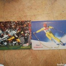 Coleccionismo deportivo: CARPETAS YOPLAIT DEPORTES. Lote 163444036