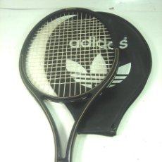 Coleccionismo deportivo: ADIDAS GRAPHITE GRAND PRIX - ANTIGUA RAQUETA DE TENIS + FUNDA - AÑOS 80-ADS 775 FRONTON. Lote 164794670