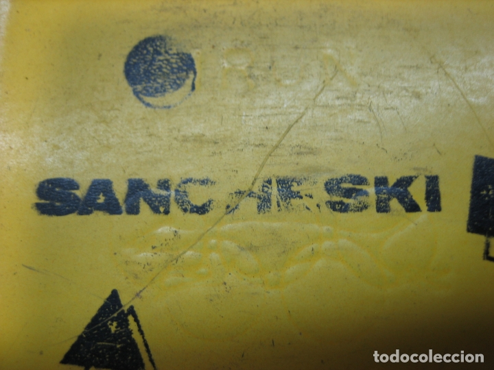 Coleccionismo deportivo: Antiguos patines Sancheski - Foto 5 - 165383818
