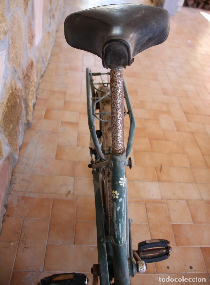 Coleccionismo deportivo: Bici BH plegable de los 70 pintada de flores - Foto 16 - 166632054