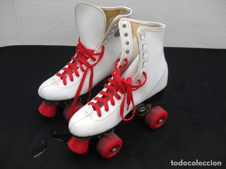 Coleccionismo deportivo: Patines con botas. Talla 40. California Team. - Foto 18 - 167449296