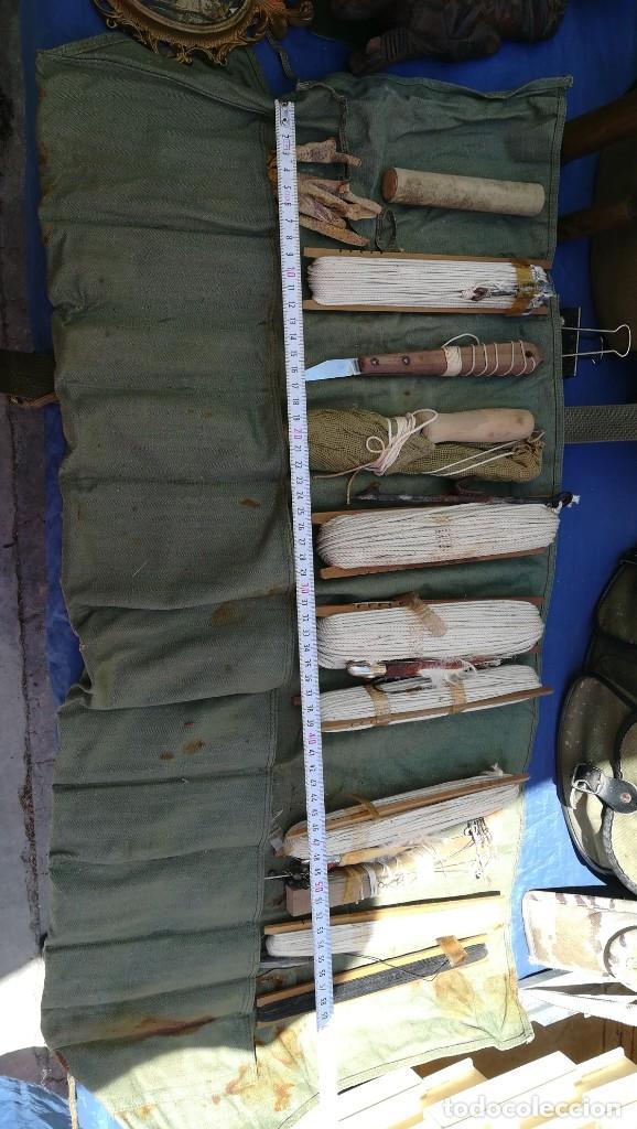Coleccionismo deportivo: Lote de aparejos de pesca - Foto 2 - 167544780