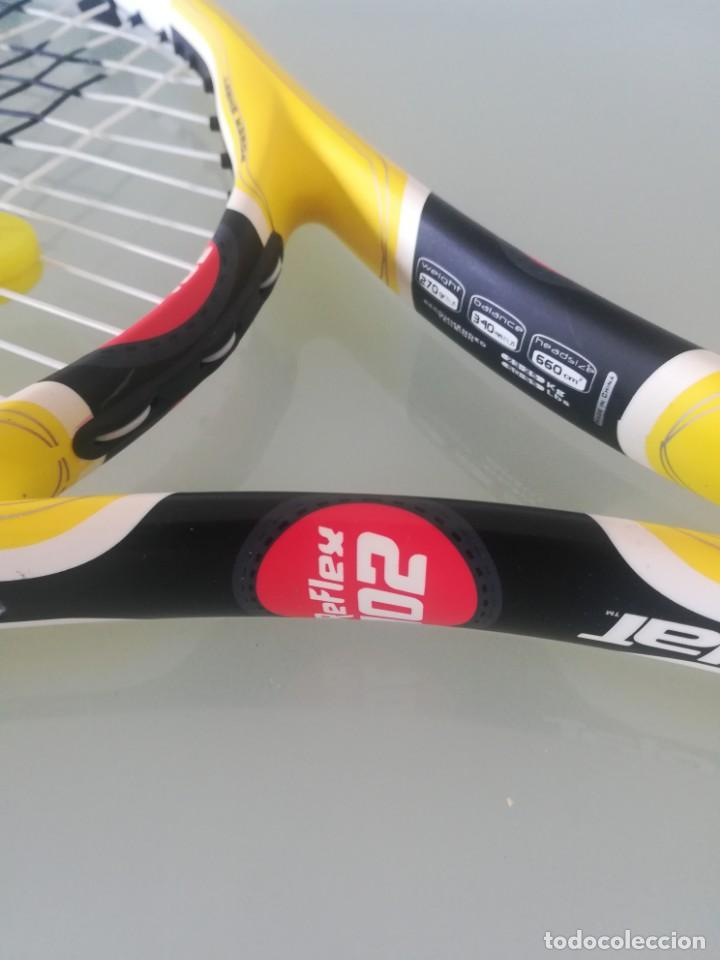Coleccionismo deportivo: Raqueta tenis Babolat Aero Reflex 102 - AÑO 2008 - - Foto 2 - 167576528