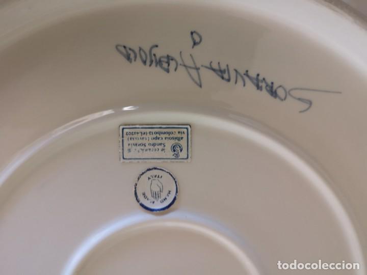 Coleccionismo deportivo: Plato de ceramica torneo internacional de waterpolo cuidad Savona - Foto 11 - 167952316