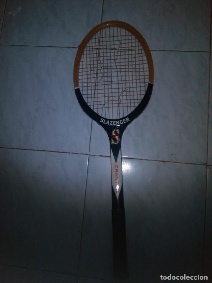 Coleccionismo deportivo: Raqueta slazenger - Foto 3 - 168239368