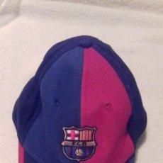 Coleccionismo deportivo: GORRA DEL BARÇA /FUTBOL CLUB BARCELONA,EXTENSIBLE,PARA NIÑO /NIÑA GRANDE. Lote 168400320