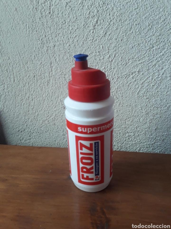 Coleccionismo deportivo: Deposito botellin ciclismo vuelta a Castilla y Leon Froiz - Foto 2 - 169076206