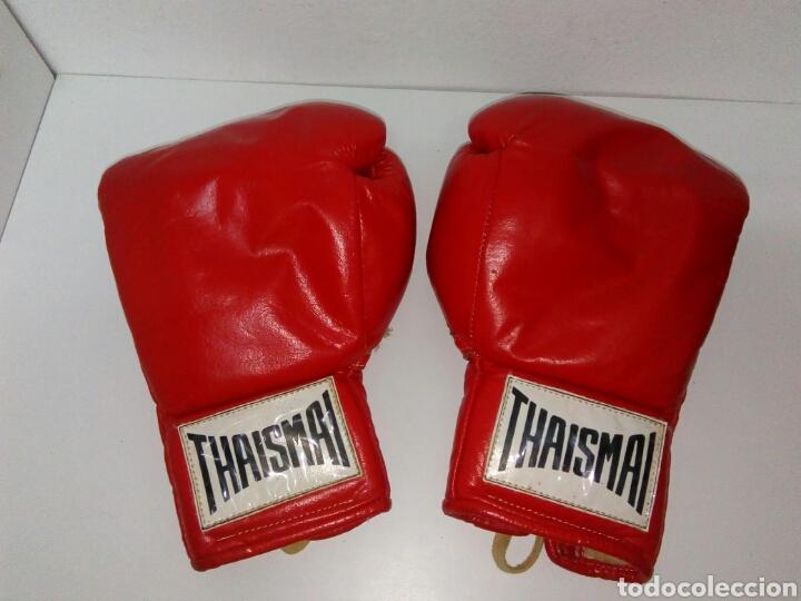 GUANTES DE BOXEO THAISMAI ANTIGUOS (Coleccionismo Deportivo - Material Deportivo - Otros deportes)
