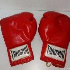 Coleccionismo deportivo: GUANTES DE BOXEO THAISMAI ANTIGUOS. Lote 170910188