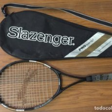 Coleccionismo deportivo: RAQUETA Y FUNDA SLAZENGER PROTWENTY7 PRO TWENTY 7. Lote 171266893