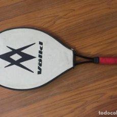 Coleccionismo deportivo: RAQUETA WEILEPU Y FUNDA . Lote 171267888