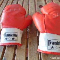 Coleccionismo deportivo: GUANTES DE BOXEO MARCA FRANKLIN 1792 , LA MANOPLA EXTENDIDA MIDE SOBRE 29 CM . Lote 172617277
