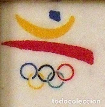 Coleccionismo deportivo: Josep Maria Trias. Dorsal original serigrafiado Juegos Olímpicos 1992. Nº 2428. Barcelona 1992. - Foto 2 - 172760895