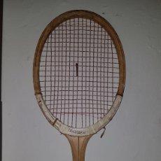 Coleccionismo deportivo: ANTIGUA RAQUETA TENIS MADERA. Lote 173200907