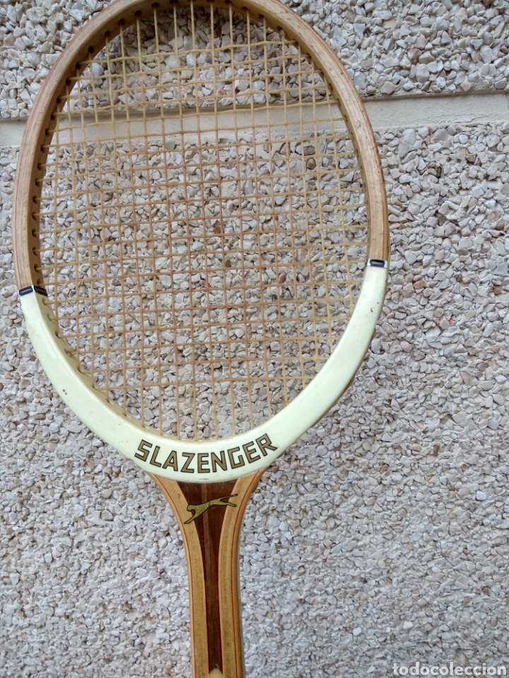 Coleccionismo deportivo: Raqueta de madera slazenger. Challenge Nº 1. Difícil de encontrar light 3 - Foto 3 - 174512927