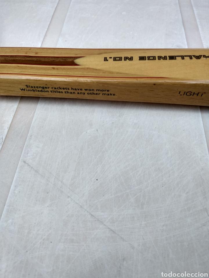 Coleccionismo deportivo: Raqueta de madera slazenger. Challenge Nº 1. Difícil de encontrar light 3 - Foto 7 - 174512927