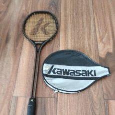 Coleccionismo deportivo: RAQUETA SQUASH KAWASAKI. CON FUNDA. Lote 174556205