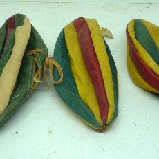Coleccionismo deportivo: BALONES ANTIGUOS DE PIEL. Lote 175998052