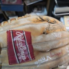 Coleccionismo deportivo: GUANTES BEISBOL RAWLINGS. Lote 176307925