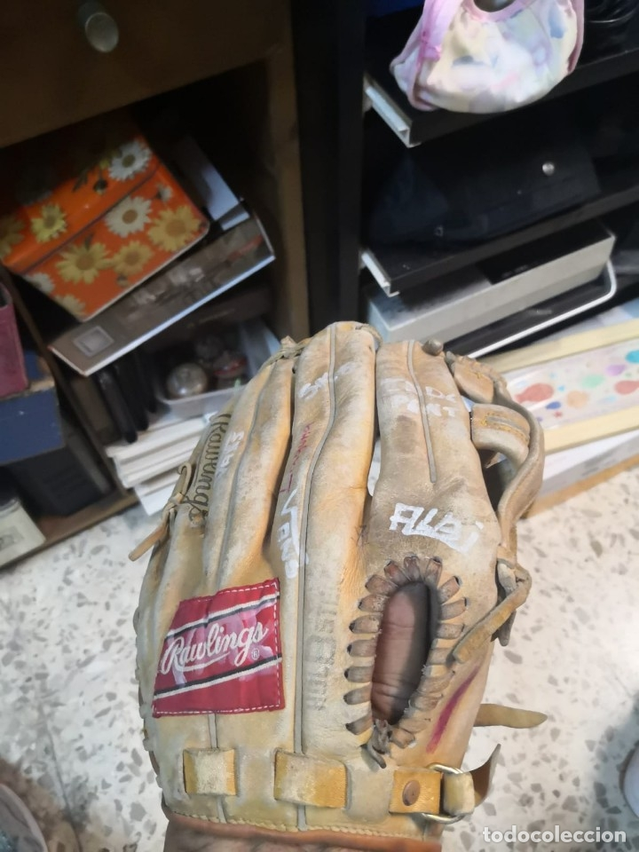 Coleccionismo deportivo: Guantes BEISBOL RAWLINGS - Foto 2 - 176307925