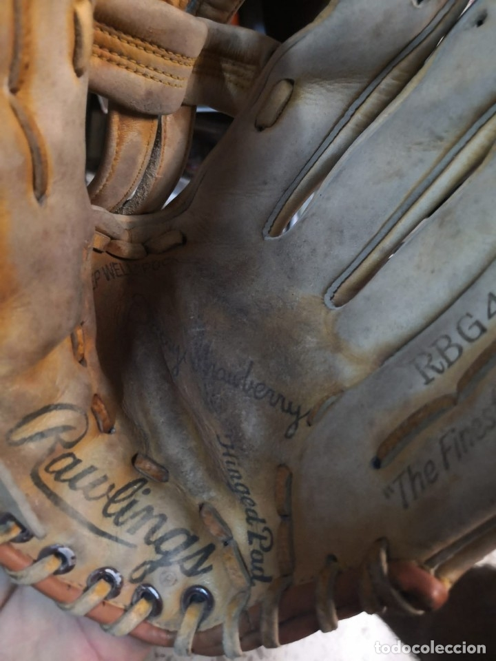 Coleccionismo deportivo: Guantes BEISBOL RAWLINGS - Foto 5 - 176307925