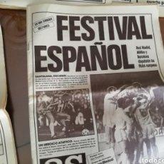 Coleccionismo deportivo: REAL MADRID CF . VIDEOTECA HISTORICA. 20 DVDS SELECCIONADOS. Lote 177045088