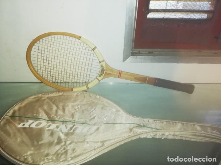 RAQUETA DE TENIS DUNLOP SPACE 2400 SERIE 110. (Coleccionismo Deportivo - Material Deportivo - Otros deportes)