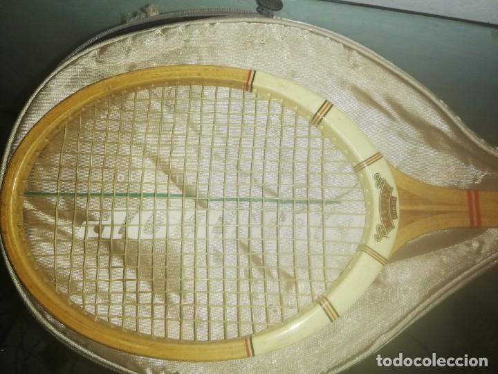 Coleccionismo deportivo: Raqueta de tenis dunlop space 2400 serie 110. - Foto 4 - 177280465