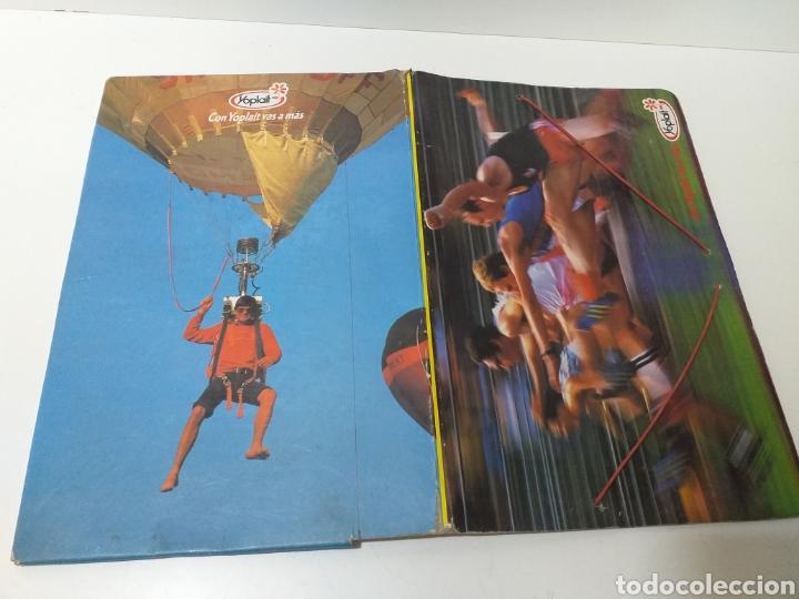 Coleccionismo deportivo: carpeta yoplait años 80 - Foto 2 - 177664698