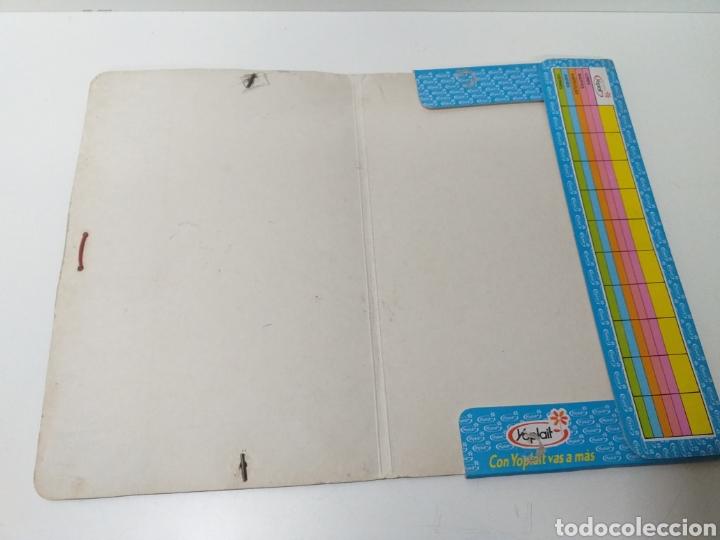 Coleccionismo deportivo: carpeta yoplait años 80 - Foto 3 - 177664698